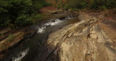 Aerial Toccoa River Stock Footage