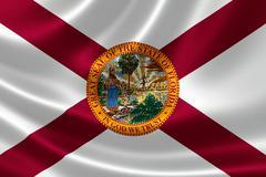 Florida State Flag Stock Illustration