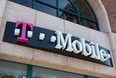T-Mobile Store Exterior - stock photo