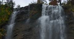 Toccoa Falls, Toccoa, Georgia Stock Footage