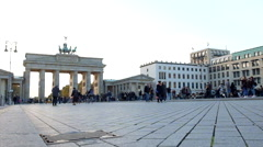 Brandenburger Tor Stock Footage