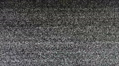 Real TV Noize Stock Footage