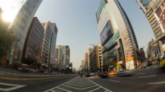 Seoul Korea Gangnam Stock Footage
