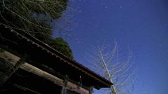 Japanese Buddhist Temple - Timelapse - stock footage