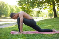 Stretching exercises Kuvituskuvat