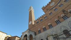 Piazza Del Campo Gavinone timelapse - stock footage