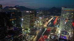 Seoul Korea Yeouido Stock Footage