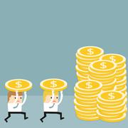 The Business situation - stock illustration
