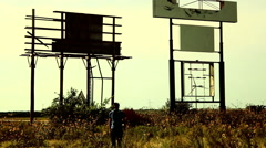 nuclear aftermath bombed abandoned - stock footage