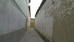 Walking through the old city of Tashkent, Uzbekistan. Stock Footage