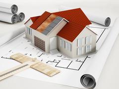 Architecture - stock illustration