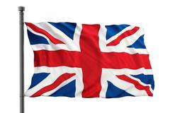 British flag - stock illustration