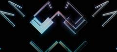 Retro Cubes 05 Stock Footage