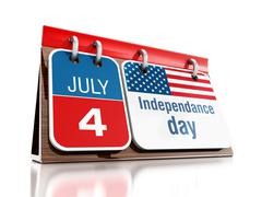 July 4 Independanced Day Stock Illustration