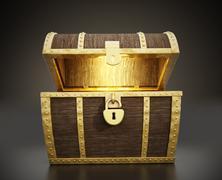 Stock Illustration of Treasure Chest
