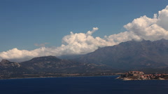 Stock Video Footage of The sunny seacoast of Corsica