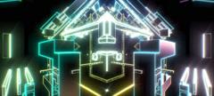 Retro Cubes 17 Stock Footage