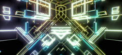 Retro Cubes 18 Stock Footage