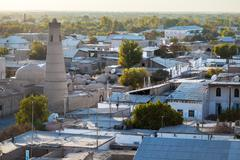 Uzbekistan. City of Khiva - stock photo