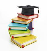 Graduation concept - stock illustration
