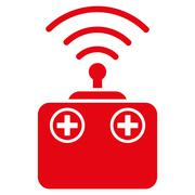 Stock Illustration of Radio Control Device Icon