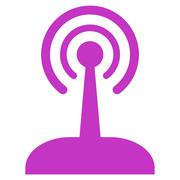 Radio Joystick Icon Stock Illustration