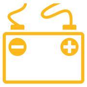 Accumulator Battery Icon Stock Illustration