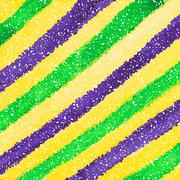 Mardi Gras dot background Stock Illustration
