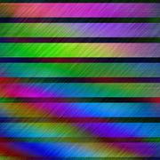 Rainbow colors rough metallic surface abstract illustration - stock illustration
