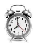 Red alarm clock Stock Illustration
