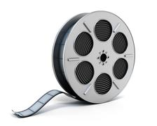 Film reel Stock Illustration