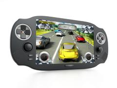 Portable video game device Piirros