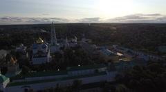 The Holy Trinity-St. Sergius Lavra. Stock Footage