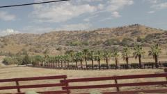 American countryside passing Stock Footage