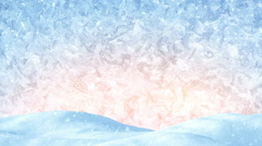 Winter christmas background loopable 4k (4096x2304) Stock Footage