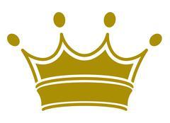 Royal crown - vector Stock Illustration