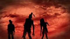 Zombies Rising Stock Footage