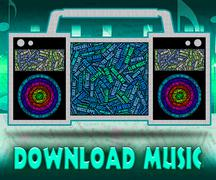 Stock Illustration of Download Music Indicates Sound Track And Data