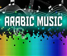 Stock Illustration of Arabic Music Shows Middle East And Arabia