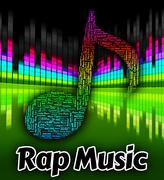 Rap Music Shows Sound Track And Audio Stock Illustration