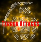 Terror Attacks Shows Terrorist Incidents And Fighters Piirros