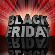 Black Friday Event - stock illustration