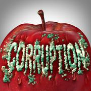 Corruption Symbol - stock illustration