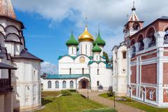 Cathedral of Transfiguration of the Saviour, Monastery of Saint Euthymius, Su - stock photo