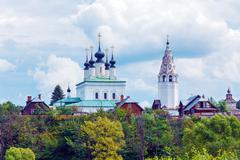 Pokrovsky Monastery, Convent of the Intercession, Suzdal - stock photo