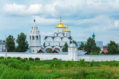 Pokrovsky Monastery, Convent of the Intercession, Suzdal - stock photo