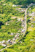 Stock Photo of Rio Negro Tungurahua Aerial Shot