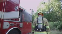 Firefighters Stock Footage