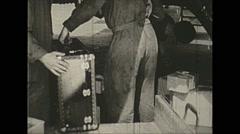 Vintage 16mm film, 1938, Germany, Junkers Ju 52 cargo #2 - stock footage