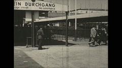 Vintage 16mm film, 1938, Germany, Junkers Ju 52 passengers #2 Stock Footage